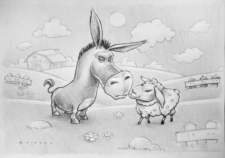 Donkey_Sheep