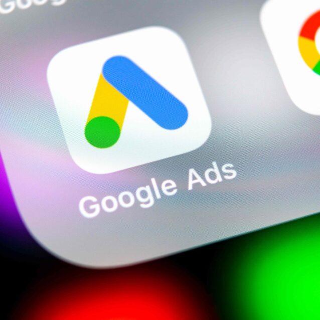 icono google ads y tasa google